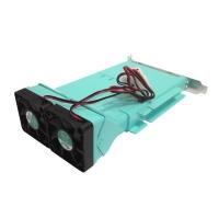 Модуль охлаждения их двух вентиляторов с установкой в стандартный слот GreenPower FANCARD-22 (SV1)