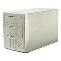 """Внешний корпус 3.5"""" (FIREWIRE 800) на 2 диска MAP-302FL-02M (для IDE HDD)"""