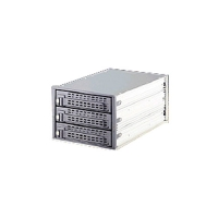 РАСПРОДАЖА Корзина MOBILE RACK IDE METALL BA-2030A 3 HDD FOR 2U CASE 216(L)*126.5(W)*86(H) WHITE