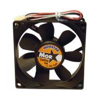 Вентилятор для корпуса 80х80х15мм, 3пин, керамический подшипник, CERAMIC FAN, MS-8015