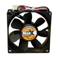 Вентилятор для корпуса 80х80х25мм, 3пин, 2000RPM, керамический подшипник, CERAMIC FAN, MS-8025