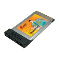 PILOTECH SA110 2-PORT SATA CARDBUS CARD