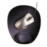 Коврик для мышки MP-GEL-T1 гелевый, с подставкой под запястье
