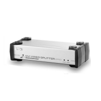 Видео разветвитель DVI 1 --- 2 мониторов VS-162 VIDEO SPLITTER, (мод.VS162), Aten