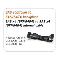 Кабель SAS Cable, SFF-8484 to SFF-8484, длина 1 метр, SAS-042, Negorack