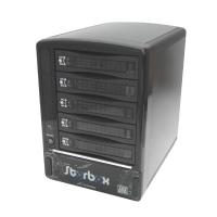 """Внешний корпус 3.5"""" (eSATA) на 5 дисков ST-2350SESR поддержка RAID 0,1,5,1+0, алюм. Multiplier port"""