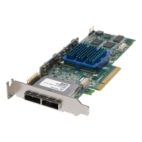 ADAPTEC ASR-3085 (PCI-E x8, LP) KIT(SGL) SAS/SATAII,RAID 0,1,10,5,6,50,8port(EXT 2*SFF8088),256Mb