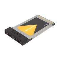 Адаптер PCMCIA на внешних 2 порта SATA