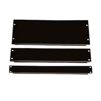 Фальш-панель, заглушка 4U в серверную стойку/шкаф, черная, BLPanel4U