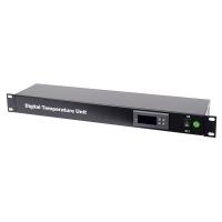 Модуль контроля и поддержания температуры 1U внутри серверного шкафа, термостат  RP-DTU, RackPro