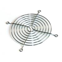 Решетка хромированная 80x80мм решетка-гриль, FAN-GUARD-8cm, для защиты лопастей вентилятора