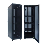 """Серверный шкаф 19"""" 37U RackPro SE-TY4 6037  (600х1000х1800) черный, блок вентиляторов в комлекте"""