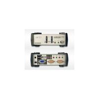 Переключатель KVM ATEN CS-1732B-C (USB&PS/2) Switch 2 порта, USB HUB, кабели в комплекте (CS1732B-C)