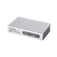 Переключатель KVM ATEN CS-72EC KVM Switch 2 порта, кабели PS2 в комплекте, [max 2048x1536] (CS72EC)