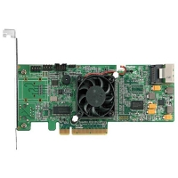 Контроллер HIGHPOINT RR 4310 PCI-Ex8, 4 SAS/SATA (256Мб, внут.:1xSFF-8087, Intel IOP348 1.2ГГц)