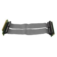 Ризер 1U PCI-express x16 Single Slot Flex Riser Card  на шлейфе 10см, NR-RC16xF
