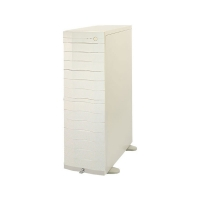 """Корпус дубликатора CD/DVD на 13 мест (13x5.25"""" внеш) БП 300Вт MAP-N5DX-02M,белый, (уценка с витрины)"""