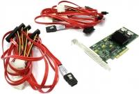Контроллер LSI SAS/SATA 9211-8I LSI00195 Ex8, int 8087 6Gb/s RAID 0, 1, 1E and 10