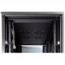 """Серверный шкаф 19"""" 42U RackPro EM6842B (600х800х2055мм), перфорированные двери,черный"""