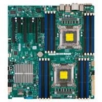Материнская плата SUPERMICRO Dual socket R (LGA 2011), MBD-X9DRI-F  Intel® C602, EATX