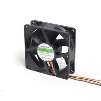 Вентилятор для корпуса 80х80х25мм, 4пин PWM, 12V, 3600RPM, два подшипника качения, NR-FAN8025ES