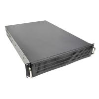 Серверный корпус 2U GHI-221 (EATX 12x10.5, 4x5.25ext, 1x3.5ext, 2x3.5int, 650mm) черный AKIWA