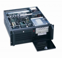 Серверный корпус 4U AKIWA GHI-419ATXR 2x460Вт ETASIS (ATX,3x5.25ext,1x3.5ext,5x3.5int,510mm) черный