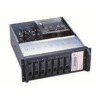 Корпус STORAGE 4U AKIWA GHR-422 2x400Вт (9x5.25ext, 501mm) черный
