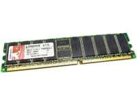 Оперативная память DDR ECC REGISTRED 1GB (PC-3200) KINGSTON KVR400D8R3A/1G (LOW PROFILE)