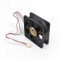 Вентилятор для корпуса 70х70х25мм, 3пин, 4000RPM, 0.21, 36Db, 36CFM, керамический подшипник, MS-7025
