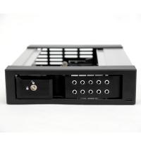 """Корзина NR-BP1100SS-BK 1x5,25"""" с функцией """"горячей замены"""" для 1х3.5"""" SAS/SATA HDD, металл, черная"""