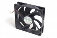 Вентилятор для корпуса 120х120х25мм,4пин PWM, 3000RPM, подшипник качения, NR-FAN12025DS