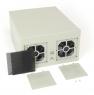 "Компактный корпус NR-W53 (MATX 9.6x9.6, БП Flex, 1х3.5"" (1x2.5""), 260x150x330мм, бежевый, Negorack"