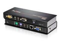 Удлинитель KVM CE350 VGA, PS/2, RS232, AUDIO (150м), Aten