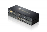 Удлинитель KVM CE-750 USB CAT5 (Audio + Mic + RS-232) (150м), (мод. CE750A), Aten