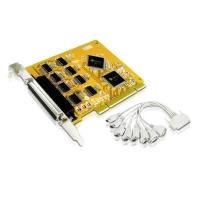 Адаптер 8xRS-232, PCI, IC-108S, 8 COM PORT (DB9), Retail, Aten
