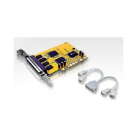 Адаптер 4xRS-232, PCI, IC-104S, 4 COM PORT (DB9), Retail, Aten