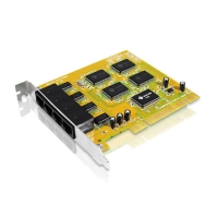 Адаптер 4xRS-232, PCI, IC-104SA, 4 COM PORT (DB9), Retail, Aten