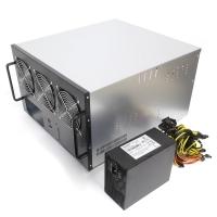 Корпус 6U NR-M66 1600Вт (6xGPU или 8xGPU, ATX 12x9.6, 1x3.5int), 470mm, черный, NegoRack