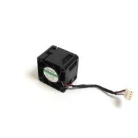 Вентилятор для корпуса 40x40x28мм, 4пин PWM, 0.15A, 1.8W, 8000RPM, NR-FAN4028ES, Dual ball, Negorack